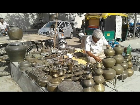 Ahmedabad flea market old antique bazaar (gujari .ravi vari)