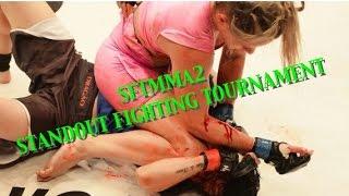 Luta MMA - Carina Damm VS Daiane Firmino - SFT2