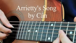 Arrietty's Song - Guitar Solo || Cẩn