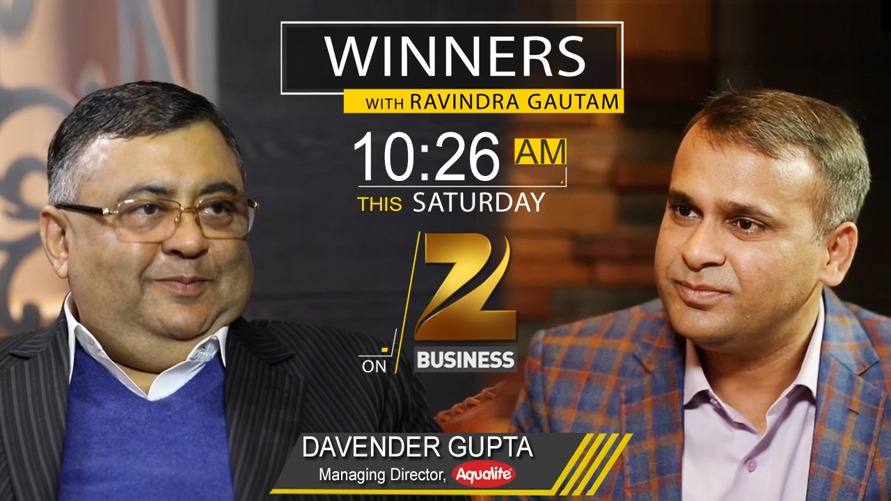 Download Davender Gupta in Winners with  Ravindra Gautam   Zee Business