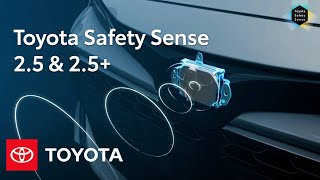 Toyota Safety Sense 2.5 and 2.5+ Overview   Toyota