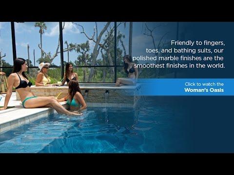 Beautiful Swimming Pools: Woman's Oasis with Hydrazzo