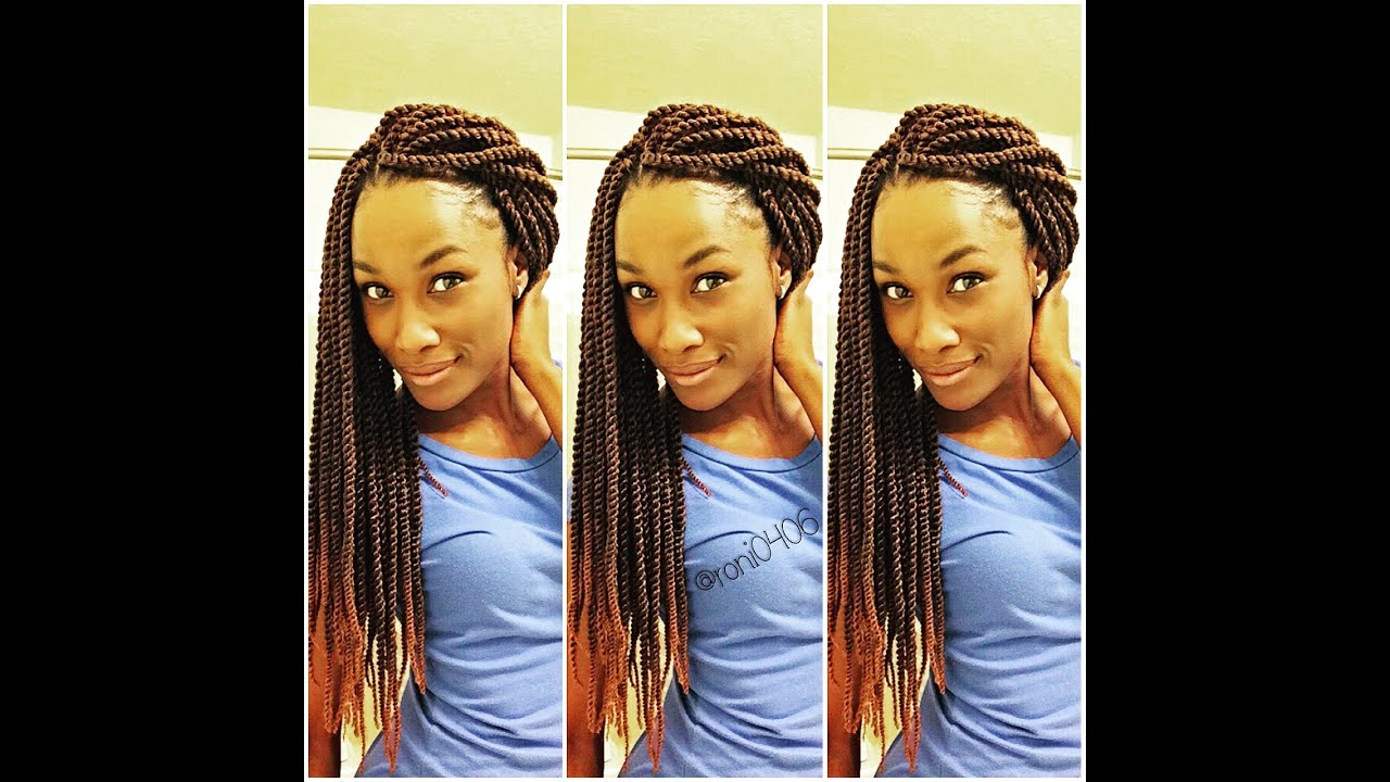 Senegalese Twist Crochet Style Youtube