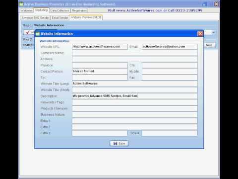 Active Business Promoter - Website Promoter (SEO) - www.ActiveSoftwares.com
