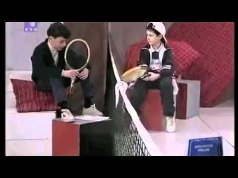 Novak Djokovic - 1st Interview, 7 years old, with translation.m4v