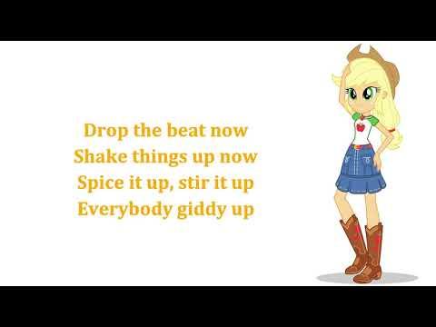 My Little Pony - Equestria Girls Shake Things Up! Lyrics