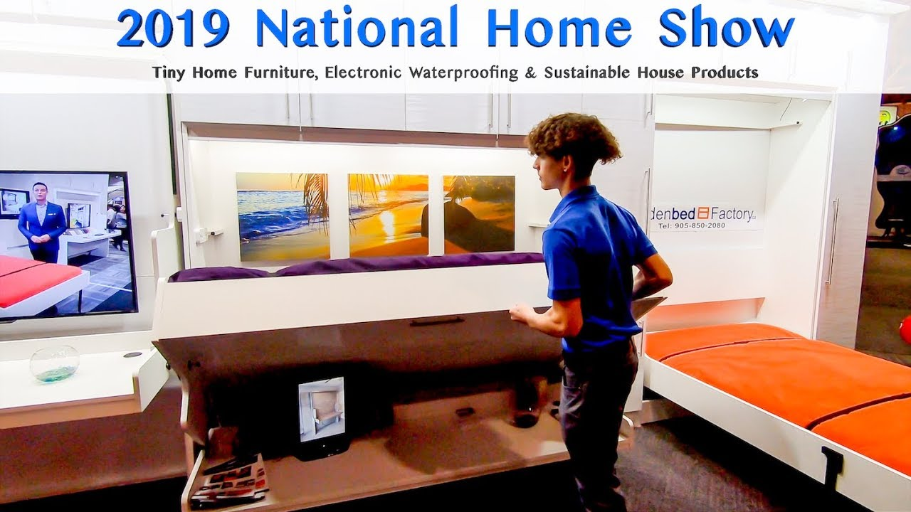 National Home Show 2019 | Tiny Home Furniture, Electronic Waterproofing on national home services, national home furnishings, national baseball, national transportation, national fish, national home design, national weather, national home health,
