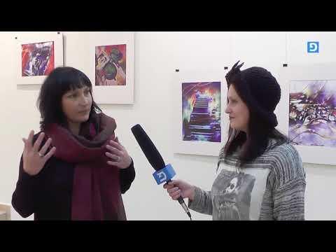 Artist Marina Kaminsky (Atelier M.K. in Blu). Exhibition in Jerusalem!