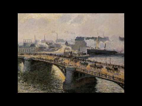 Paintings by PISSARRO & music by SATIE