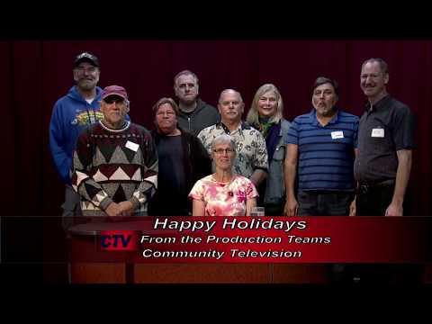 CTV Production Teams Happy Holidays 2017 recorded 12 05 17