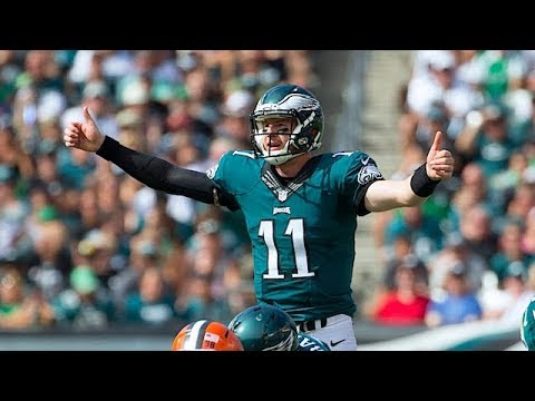 Eagles Insider Jeff McLane on the Severity of Wentzs Back Injury  The Rich Eisen Show  121318