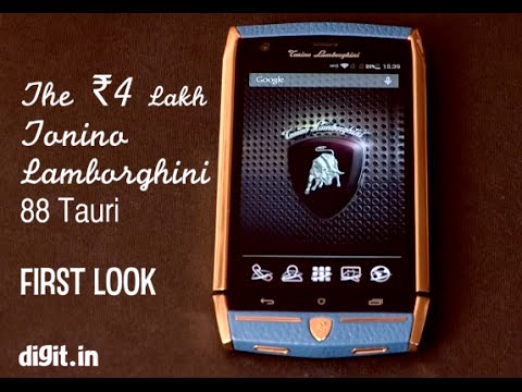 The 4 Lakh Tonino Lamborghini 88 Tauri Smartphone First Look