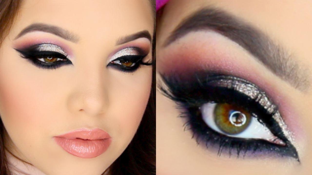 glamorous arab makeup tutorial - youtube