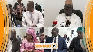 🔴Direct building :Première réunion du comité de pilotage du dialogue national