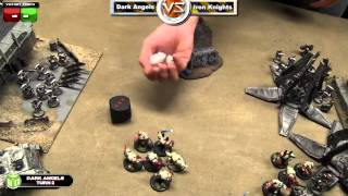 Dark Angels vs Iron Knights Warhammer 40k Battle Report - Space Marine Week Game 3(, 2013-09-26T13:35:59.000Z)