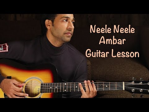 Neele Neele Ambar Par - Guitar Lesson & Tips ( Hindi ) By VEER KUMAR