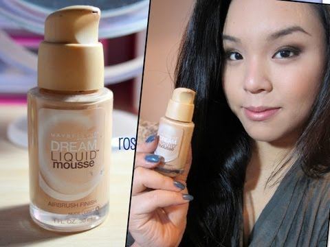 Maybelline Dream Liquid Mousse Foundation (Creamy Natural