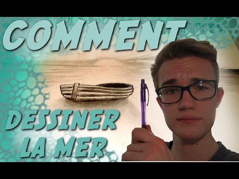 Comment Dessiner La Mer : comment dessiner la mer avec des traits juste des traits tutoriel youtube ~ Dallasstarsshop.com Idées de Décoration