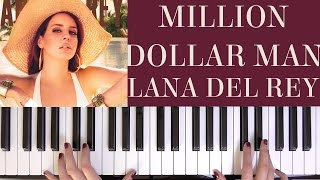 HOW TO PLAY: MILLION DOLLAR MAN - LANA DEL REY