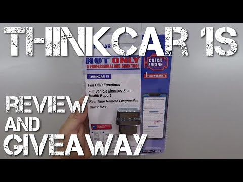 Thinkcar 1s Review And How To Use - Remote Diagnosis OBDII Scanner Bluetooth