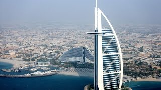In the Hotel Burj Al Arab in Dubai