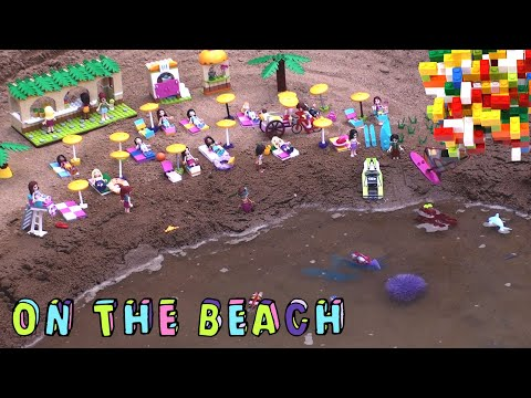 Lego Friends Holidays on the Beach by Misty Brick.