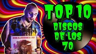 TOP 10 DISCOS DE LOS AÑOS 70 QUE TIENES QUE ESCUCHAR Feat. El matadero de Morkay (en vinilos)