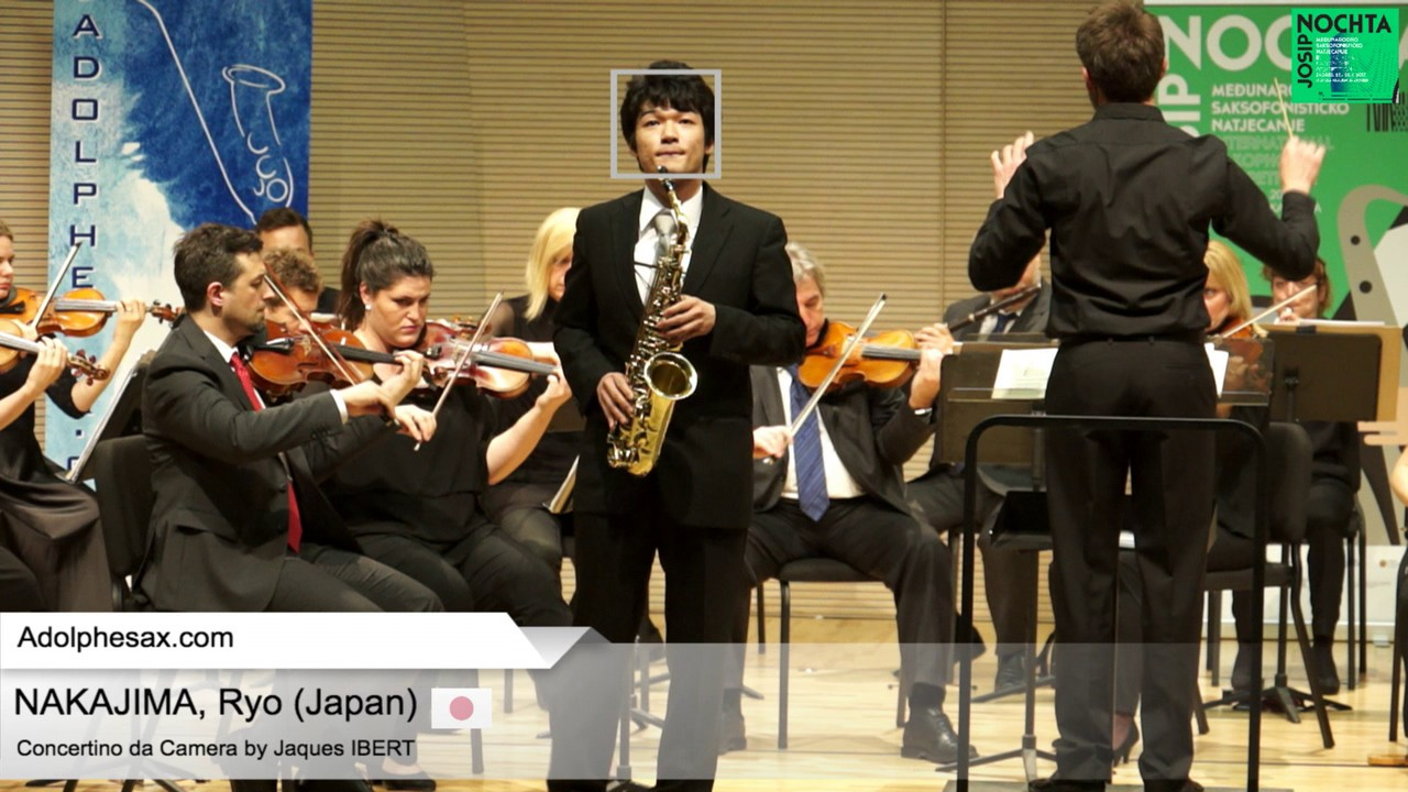 Ryo NAKAJIMA (Japan) -  Concertino da Camera by Jaques IBERT