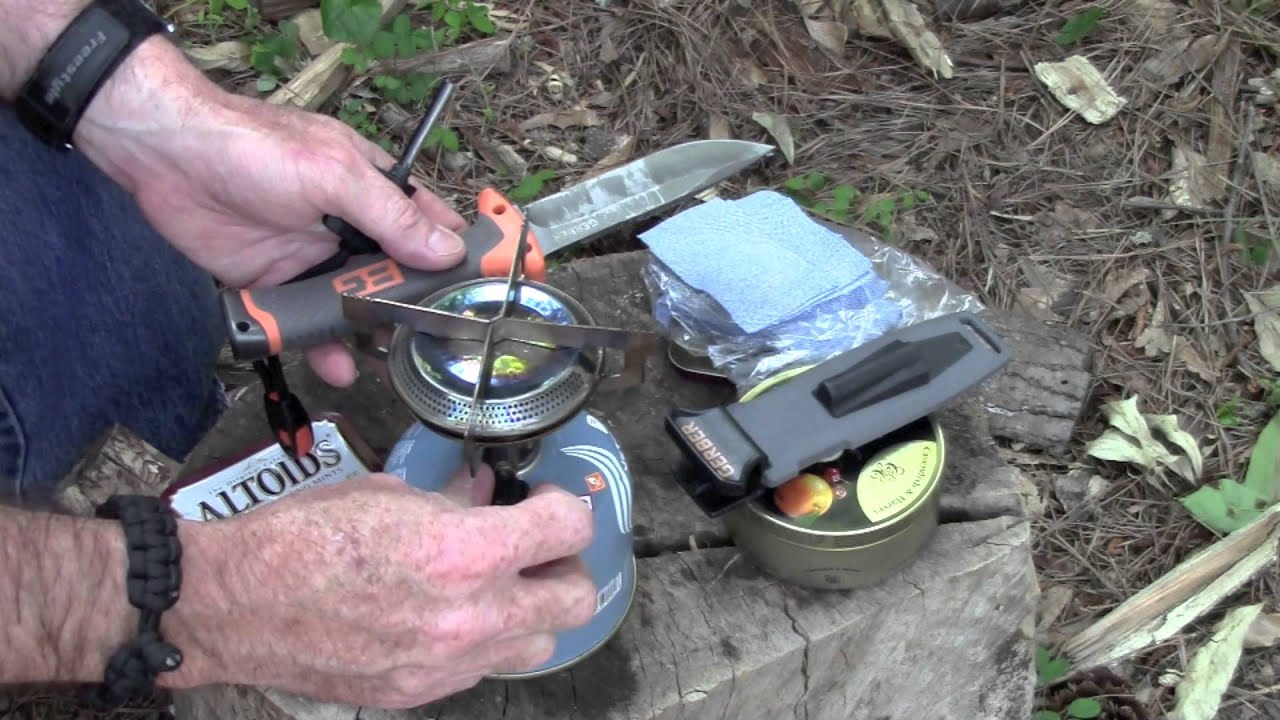 how to make char cloth without a tin