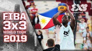 Balanga Chooks (PHI) upset Riga for a huge W! | Full Game | FIBA 3x3 World Tour 2019 - Doha Masters