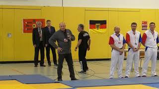 Международный турнир по самбо в Берлине 2018 Открытие