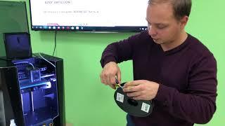 Распаковка нового 3D-принтера PICASO 3D DESIGNER X PRO. Первый запуск 3D печати на принтере.