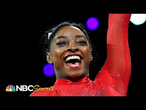 Simone Biles wins 23rd world championship medal with impeccable vaults | NBC Sports