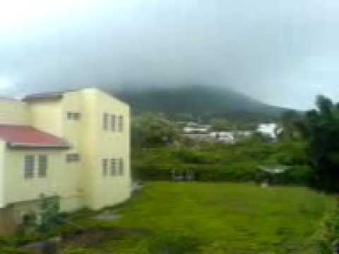 Rainy Volcano. The Quill - Sint Eustatius
