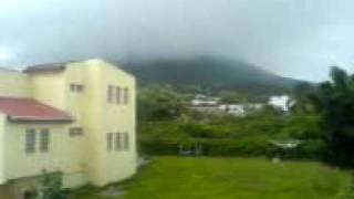 Rainy Volcano. The Quill - Sint Eustatius