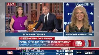 Donald Trump Elected President - Today Show  | 9 November 2016 | 7AM ET