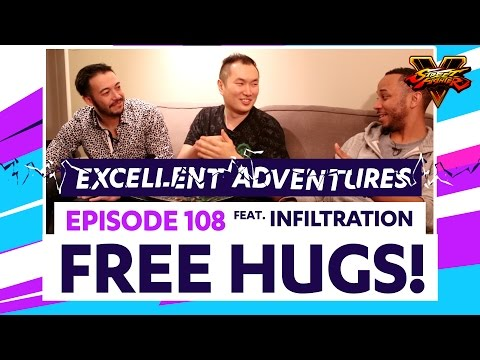 FREE HUGS ft. INFILTRATION! The Excellent Adventures of Gootecks & Mike Ross Ep. 108 (SFV)