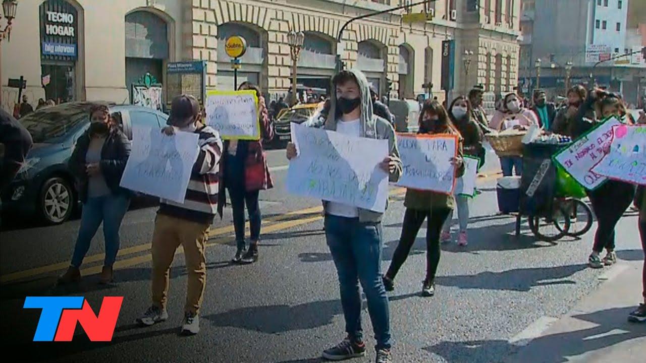 Reabren 19 negocios de cercanía en avenidas de CABA: comerciantes de Once piden reabrir sus locales