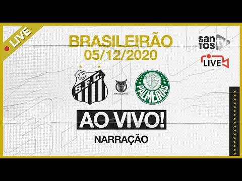 🔴 AO VIVO: SANTOS 2 x 2 PALMEIRAS | BRASILEIRÃO (05/12/20)