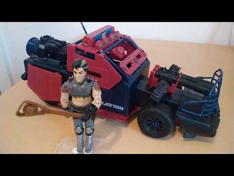 Heti videó: 34# Vintage G.I.Joe - Dreadnok Thunder machine