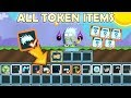 GrowTopia | Buying All Token Items on GrowTopia!! (FROSTY HAIR!!) OMG!!