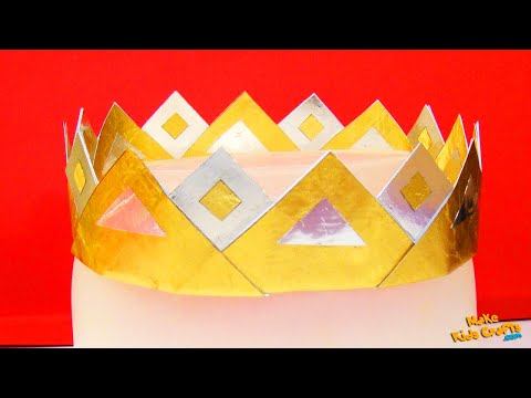 How to make a King's crown? DIY