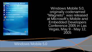 Windows Mobile through the years (Pocket PC 2000 - Windows Mobile 6.5)