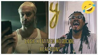 Logic - Homicide ft. Eminem Reaction