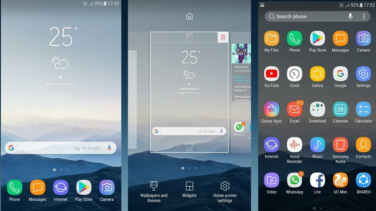 Only No Samsung For 8 Root Launcher Note Devices Nougat Galaxy