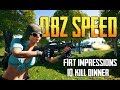 PUBG - QBZ SPEED | QBZ 1st Impressions & 10 Kill Win!