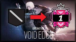 How I Got CHAMPION In Operation Void Edge - Ranked Highlights - Rainbow Six Siege Gameplay