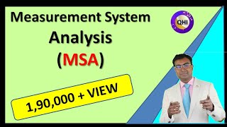 Measurement System Analysis (MSA) - One of the 5 Core Tool