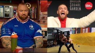 The Mountain I39d smash Conor McGregor in a UFC Octagon  OTBAM