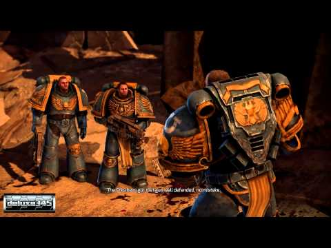 Warhammer 40,000: Space Marine Gameplay (PC HD)